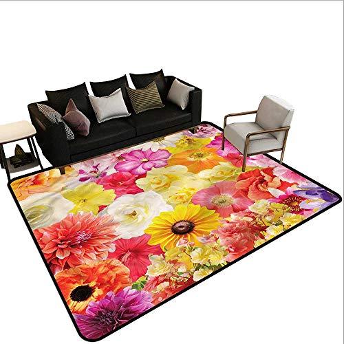 Flower,Floor mats for Kids 24
