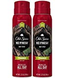 Old Spice Re Fresh Body Spray - Fresher Collection - Timber - Net Wt. 3.75 OZ (106 g) Each - Pack of 2