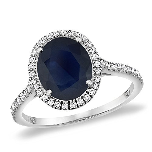 14K-White-Gold-Natural-Blue-Sapphire-Diamond-Halo-Engagement-Ring-10×8-mm-Oval-sizes-5-10