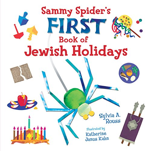 First Spider - Sammy Spider First Book of Jewish Holidays (Very First Board Books)