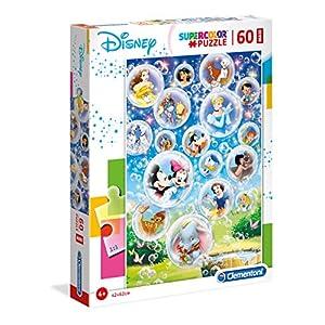 Clementoni Supercolor Puzzle Disney Classic 60 Pezzi Maxi Multicolore 26448