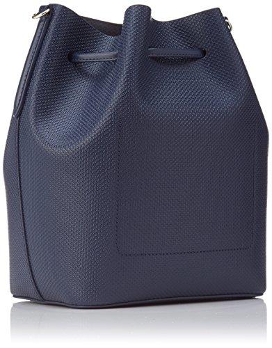 Lacoste Chantaco - Bolso bandolera Mujer azul (Peacoat)