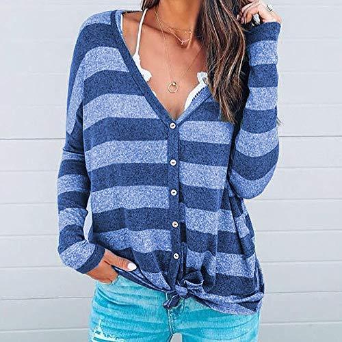 Tunic Damark Abrigo Sueter Capucha Azul Mujer Para Blusa Cremallera Con Tops Cárdigan De Invierno Patchwork qBrwxSPqp