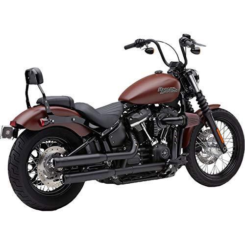 - Cobra 18-19 Harley FXBB NH Series Slip-On Exhaust (Black / 3