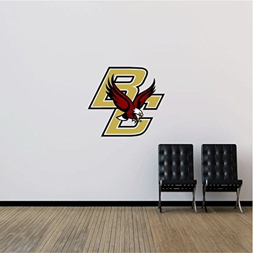 Boston Wall Usa (Boston College Eagles NCAA USA Logo College Sport Art Wall Decor Sticker 25