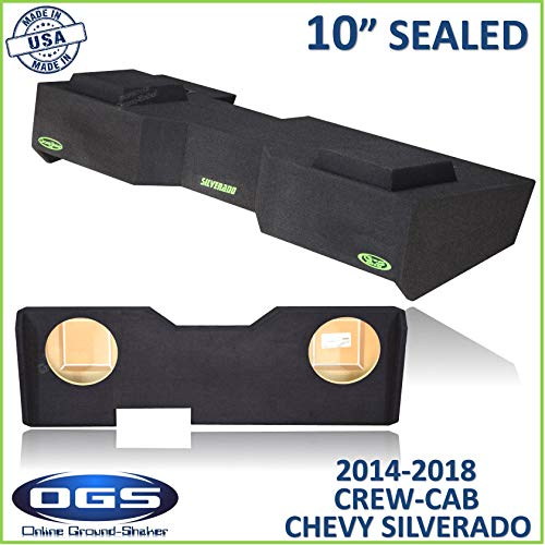 Sealed Logo Enclosure - Chevy Silverado & Gmc Sierra Crew-Cab 2014-2018 10