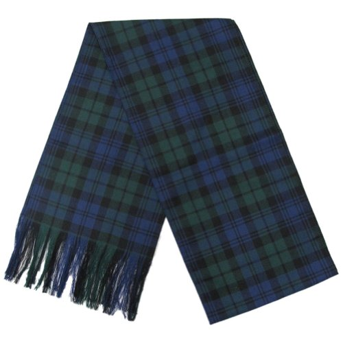 - Black Watch Tartan Wool Sash