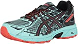 Best Trail Running Shoes - ASICS Women's Gel-Venture 6 Running-Shoes,Ice Green/Black/Cherry Tomato,7.5 Medium Review