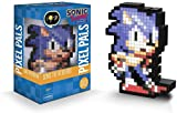 PDP Pixel Pals Sonic the Hedgehog Collectible Lighted Figure, 878-038-NA-SONIC