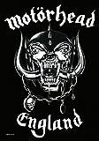 Motorhead: Motörhead,England, Fahne (Zubehör)