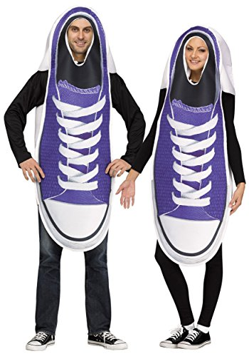 Pair of Sneakers Couples Adult Costume (Male Couple Halloween Costumes)