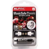 Protección auditiva alpina MusicSafe Classic tapones para los oídos para músicos