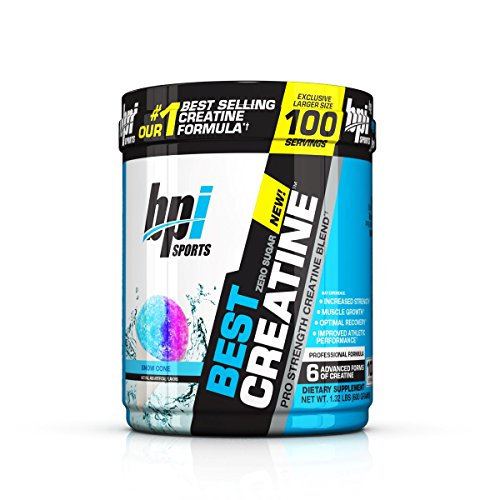 BPI Sports Best Creatine, 1.32lbs. - Snow Cone by BPI Sports