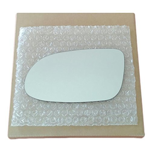 Drivers Mercedes (Mirror Glass and ADHESIVE | Mercedes CLK SL SLK Models Driver Left Side Replacement - AUTO DIM FIT OVER)