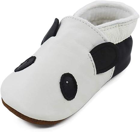 Zapatilla niño niña bebe infantil patucos zapatos de cuero de 0 a 5 años