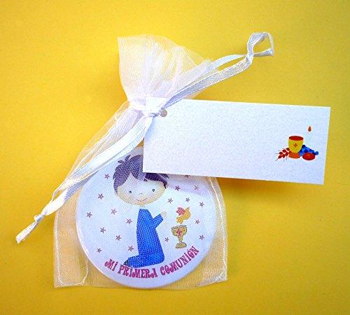 Recuerdos y regalos de Comunión para tus invitados, Espejos Bonitos, Originales y muy prácticos para regalar a los invitados. Espejos imagen niño.