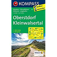 Oberstdorf, Kleinwalsertal: Wanderkarte mit Aktiv Guide, Radwegen, Loipen und alpinen Skitouren. GPS-genau. 1:25000: Wandelkaart 1:25 000 (KOMPASS-Wanderkarten, Band 3)