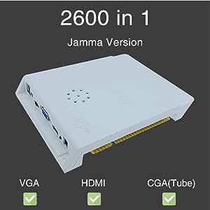 szyzl88 para Pandora 2600 IN 1 Arcade Juego Caja, Soporte 9 Tipos ...