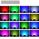 GLW 50w Remote Control RGB Flood Light, 4 Models