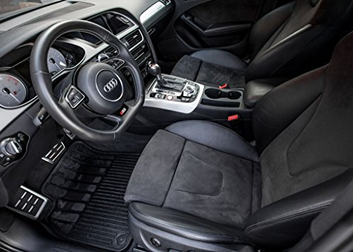 Heavy Duty All Weather Floor Mats For Audi A4 S4 Rs4 B8 B8