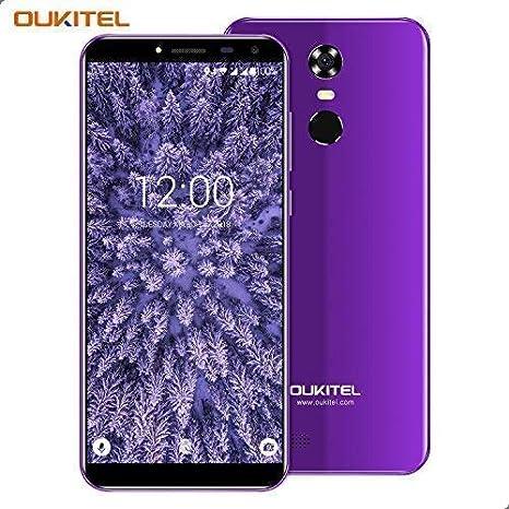 Móviles, OUKITEL C8 3G Smartphone, 5.5 Pulgadas Display (18: 9 Visión Completa), Batería 3000mAh, Android 7.0, Quad Core 2GB RAM + 16GB ROM Cámara 5MP + ...