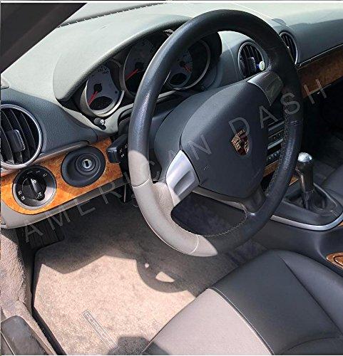 Porsche 911 997 Turbo Interior Burl de Madera Ligero Dash Juego de Acabados Set 2005 2006 2007 2008 2009: Amazon.es: Coche y moto