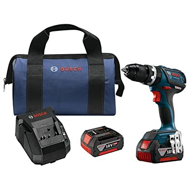 Bosch HDS183-01 18V EC Brushless Compact Tough 1/2 in. Hammer Drill Driver