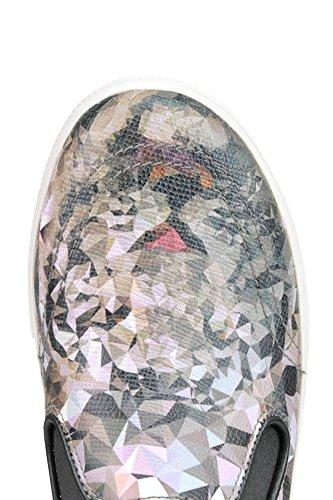 On Mujer Ash MCGLCAK03022E Slip Cuero Zapatillas wzwpPqT