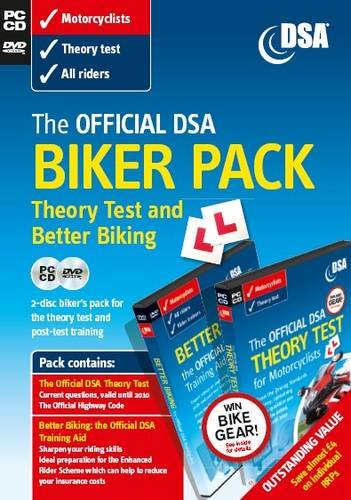 The Official Dsa Biker Pack: Theory Test and Better Biking
