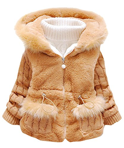 Urtrend Little Girl's Baby Toddler Kids Clothes Winter Outerwear Coat -