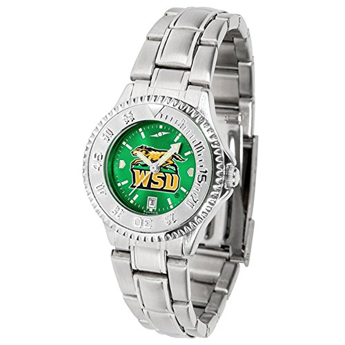 New Linkswalker Wright State Raiders Ladies' Competitor Steel Anochrome Watch