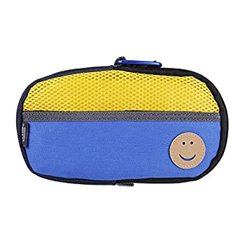 OSTENT Protective Soft Travel Carry Storage Bag Cover Case Pouch Compatible for Sony PS Vita PSV - Color Yellow Blue