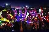 Elaco 100 Light up Toys Glow Stick Bracelets Mixed Colors...