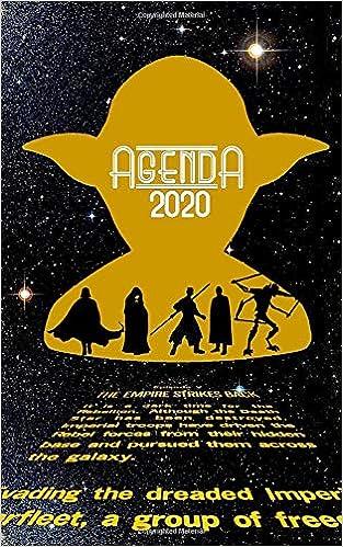 Agenda 2020: Weekly calendar planner star wars: Kristell ...