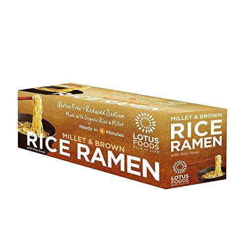 Lotus Foods Organic Millet and Brown Rice Ramen (10 pk. ) (pack of 6) by Lotus