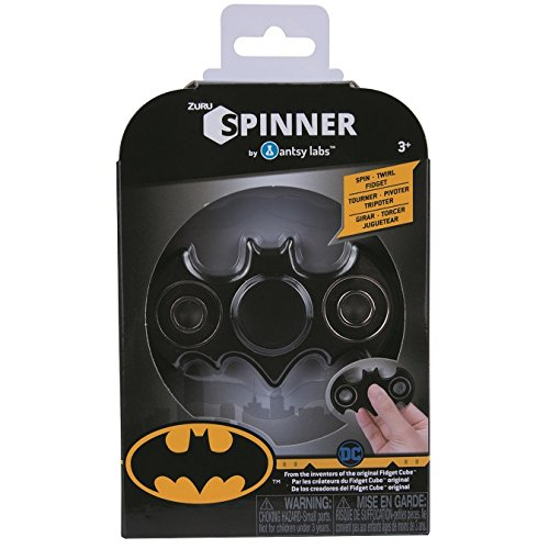 Antsy Lab Official Warner Brothers Batman Spinner Fidget Toy at Gotham City Store
