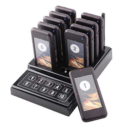 Top 10 Restaurant Pagers Of 2019 Best Reviews Guide