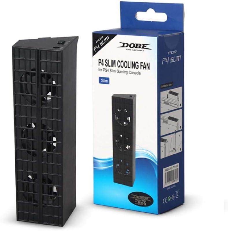 huiouer - Ventilador de refrigeración para Consola PS4 Slim Game: Amazon.es: Informática