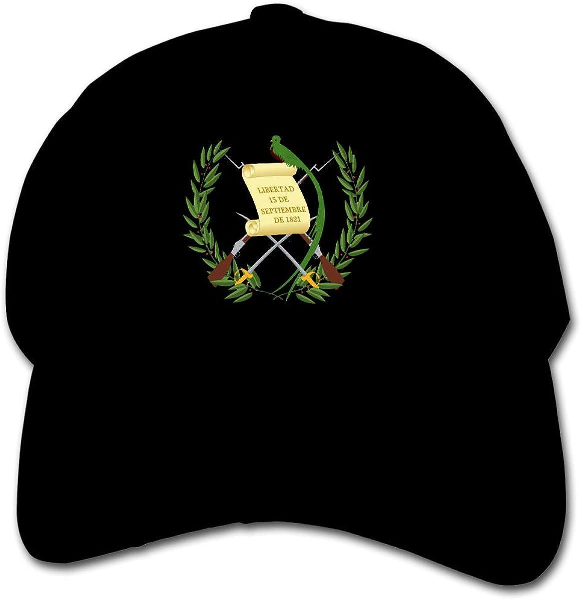 Guatemalan Flag Kids Baseball Cap Hat Unisex Toddler Sun Hat Adsjutable Trucker Hat