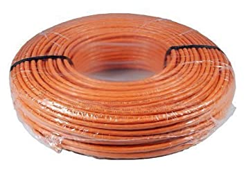 Tecline 100m Cat7 100m Cat7 S/FTP (S-STP) Naranja - Cable
