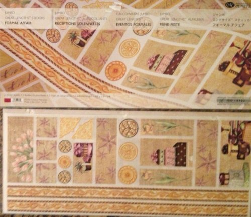 Jumbo Great Lengths Stickers: FORMAL AFFAIR by Creative Memories (Image #1)