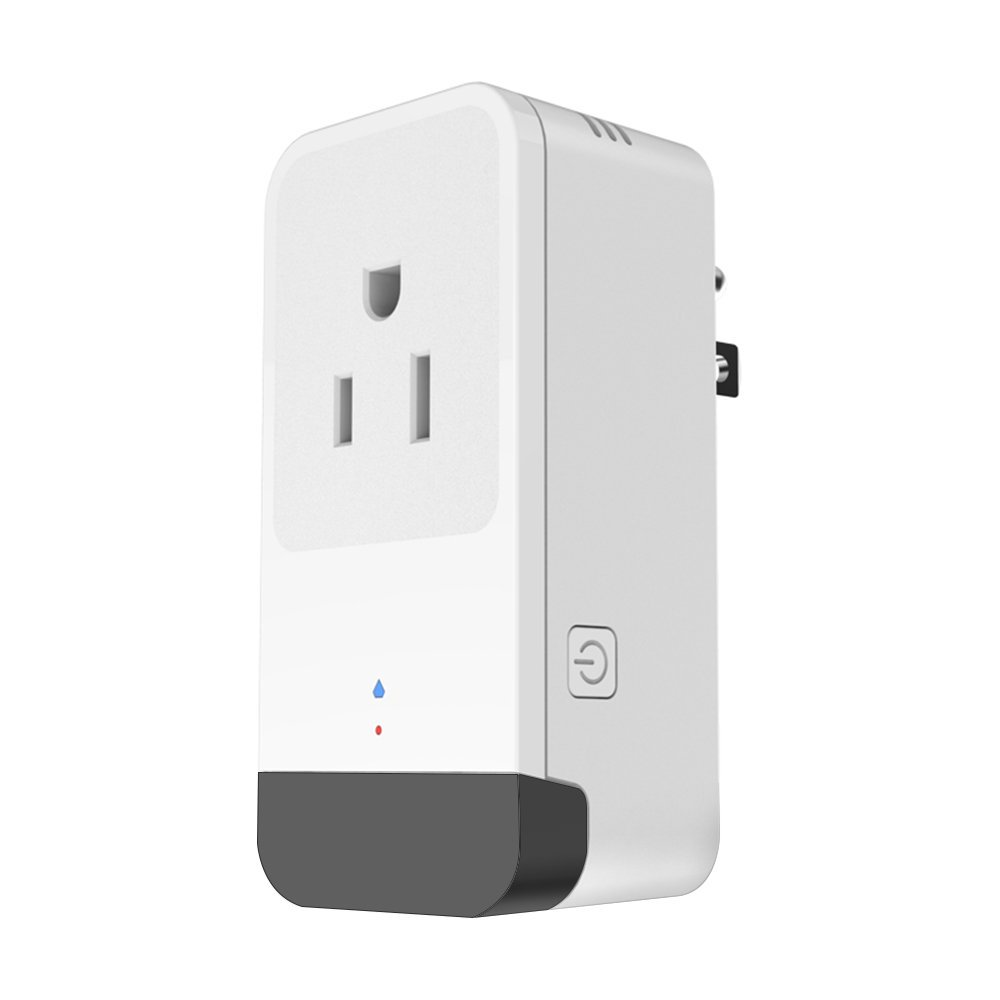 TOMNEW Wifi Smart Plug, Mini Smart Socket Compatible with Alexa Google Home Electrical Power Switch for Household Appliances Remote Control From Anywhere 16A Overcurrent Protection (Upgrade)