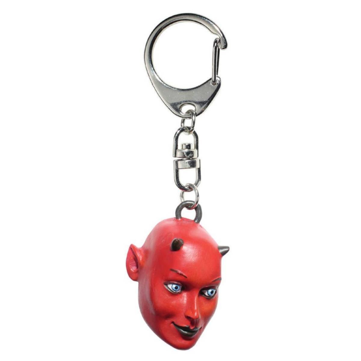 Schlüsselanhänger Kopf des Teufels