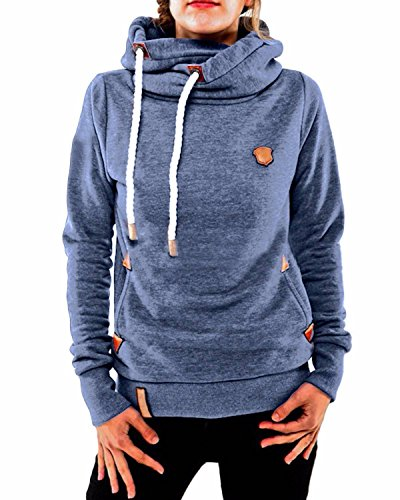 zanzea winter damen hoodies pullover langarm jacke top. Black Bedroom Furniture Sets. Home Design Ideas