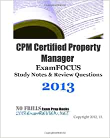 Cpm certified property manager examfocus study notes for Cpm windows 10