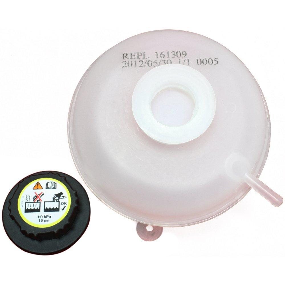 Evan-Fischer EVA11872043149 New Direct Fit Coolant Reservoir Expansion Tank for Freelander 02-05 Plastic With cap