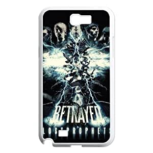 Samsung Galaxy N2 7100 Cell Phone Case Covers White Lostprophets Phone cover F7622418
