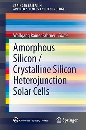 Amorphous silicon solar cell