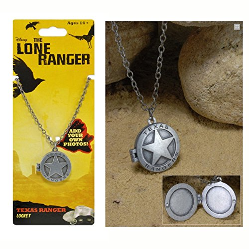 NECA Lone Ranger Texas Locket
