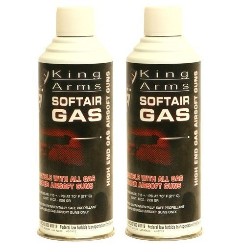 Palco Firepower Green Gas  Dual Pack 8oz Cans